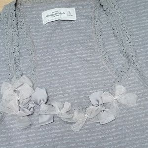 Abercrombie & Fitch Racer Back Cami Size M